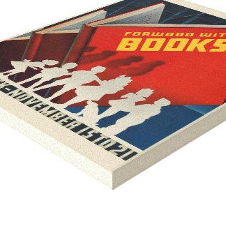 Das Buch-Wochen-Leinwand 1942 Kinder Leinwanddruck