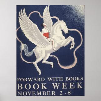 Das Buch-Wochen-Plakat 1941 Kinder Poster