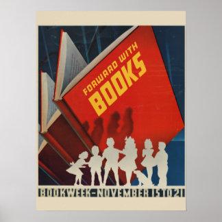 Das Buch-Wochen-Plakat 1942 Kinder Poster