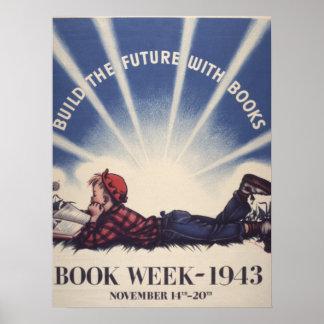 Das Buch-Wochen-Plakat 1943 Kinder Poster