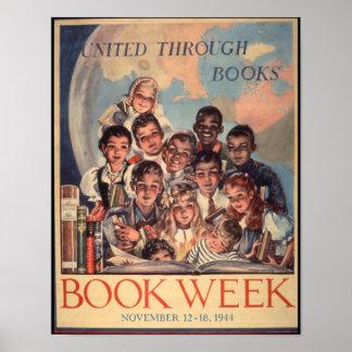 Das Buch-Wochen-Plakat 1944 Kinder Poster