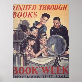 Das Buch-Wochen-Plakat 1945 Kinder Poster