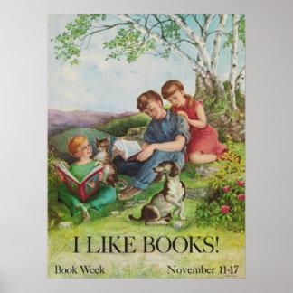 Das Buch-Wochen-Plakat 1962 Kinder Poster
