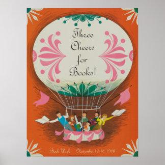 Das Buch-Wochen-Plakat 1963 Kinder Poster