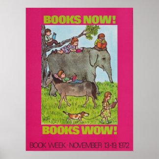 Das Buch-Wochen-Plakat 1972 Kinder Poster