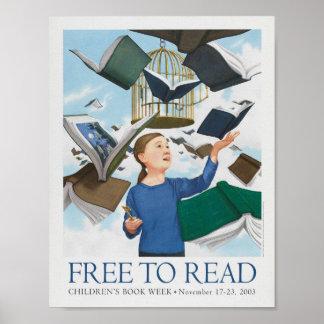 Das Buch-Wochen-Plakat 2003 Kinder Poster