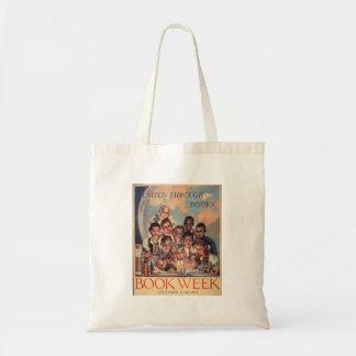 Das Buch-Wochen-Tasche 1944 Kinder Budget Stoffbeutel