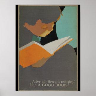Das Buch-Wochenplakat 1925 Kinder Poster