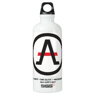 Das Bündnis des Liberalisten verlassen von der Wasserflasche