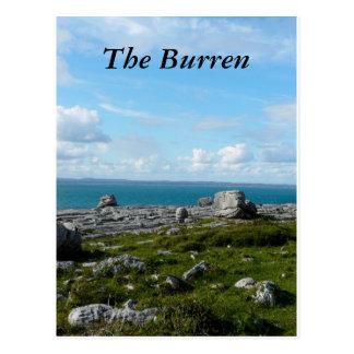 Das Burren Postkarte