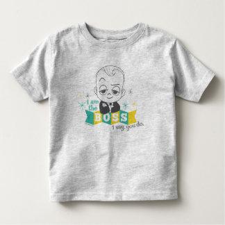 Das Chef-Baby | bin ich der Chef. Ich sage. Sie Kleinkind T-shirt