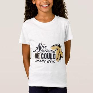 Das christliche aufmunternde Shirt des Kindes -