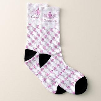 Das Claddagh (Rosa) Socken