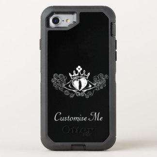 Das Claddagh (weiß) OtterBox Defender iPhone 7 Hülle
