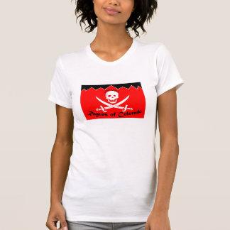 Das Colorado entfernt Damen-niedriges vorderes T-Shirt