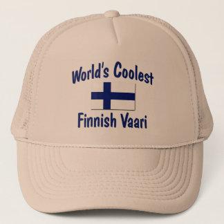 Das coolste finnische Vaari der Welt Truckerkappe