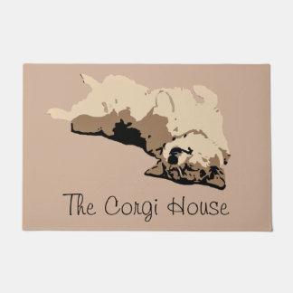 Das corgi-Haus Türmatte