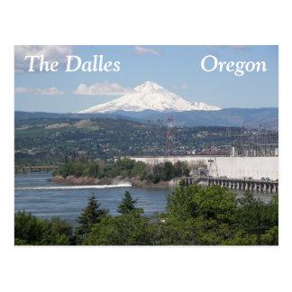 Das Dalles, Oregon-Reise-Foto Postkarte
