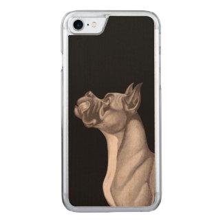DAS DÄNE iPhone 6 Holz Carved iPhone 8/7 Hülle