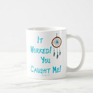 Das Dreamcatcher bearbeitet Kaffeetasse