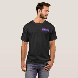 Das dunkle grundlegende T-Stück der Männer T-Shirt