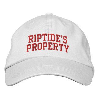 Das Eigentums-Hut des Riptides Bestickte Baseballkappe