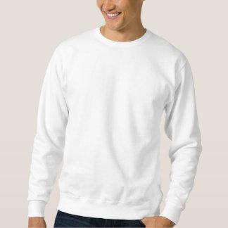 Das einfache grundlegende Sweatshirt der weißen