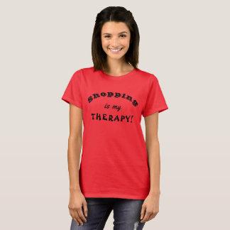 Das Einkaufen ist meine THERAPIE! T-Shirt