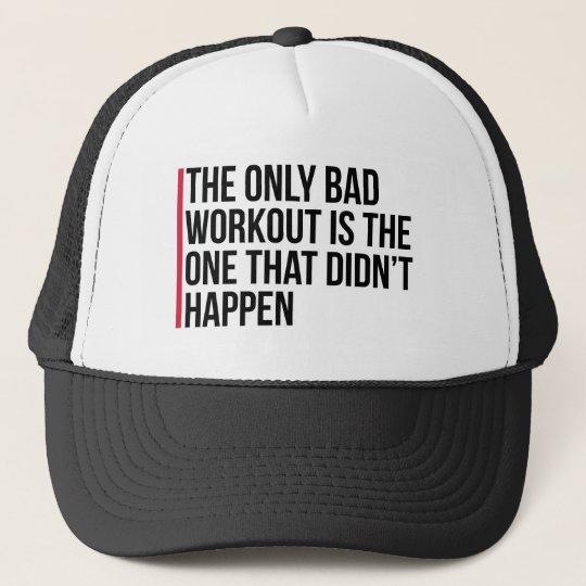 Das einzige schlechte Trainings-Turnhallen-Zitat Retrokultmützen