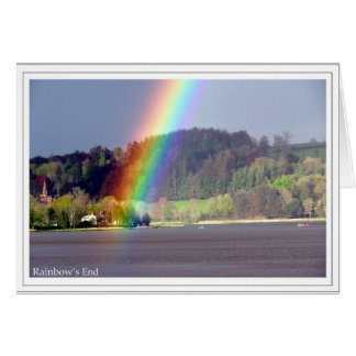 Das Ende des Regenbogens Karte