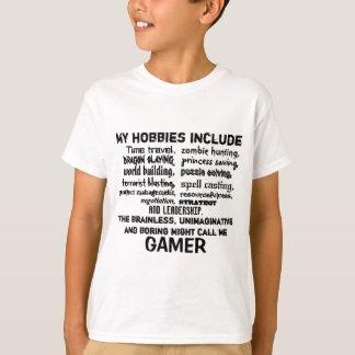 Das entscheidenden Kredo des Gamers (weiß) T-Shirt
