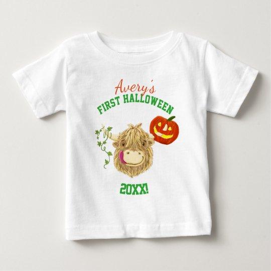 Das erste Halloween des kleinen Hamish Baby T-shirt