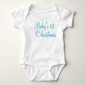 Das erste Weihnachten des Babys Baby Strampler