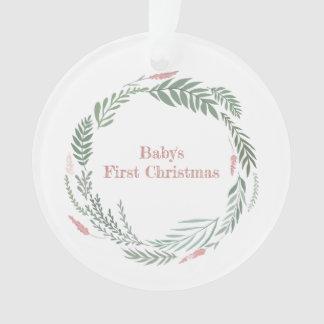 Das erste Weihnachten des Babys - nicht eine Ornament