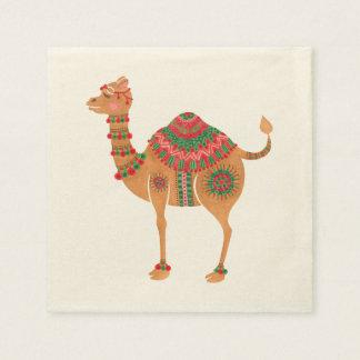 Das ethnische Kamel Servietten
