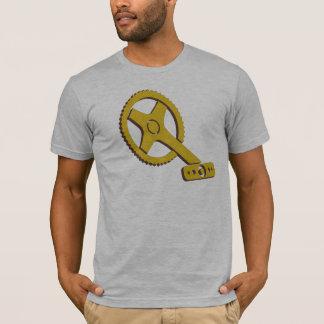 Das Fahrrad-Kurbel-Shirt der Männer T-Shirt