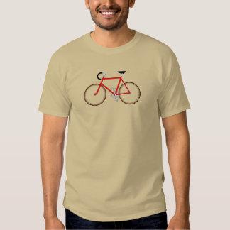 Das Fahrrad - rein und einfach. Der T - Shirt des