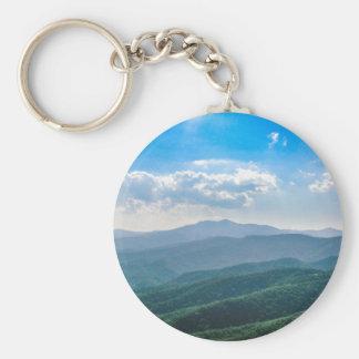 Das fantastische Blau-Ridge Schlüsselanhänger