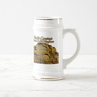 Das Felsen-Feste weiße Bier Stein des Neffeen Bierglas