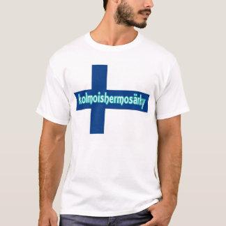 Das Finnland-FlaggeTrigeminalneuralgia-Shirt der T-Shirt
