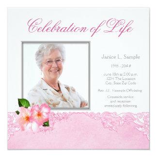 Das Foto-Erinnerungsservice-Mitteilung der Frau Karte