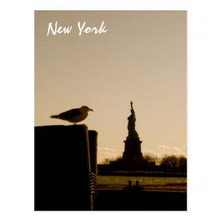 Das Freiheitsstatue Postkarte