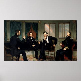 Das Friedensstifter-Malen von 1868 Poster