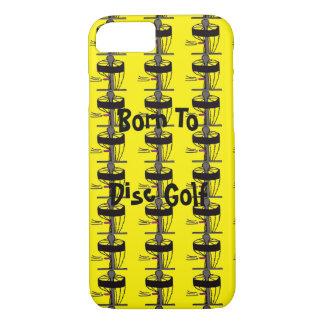 Das geborene zum Disc-Golf Iphone iPhone 7 Hülle