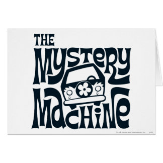 Das Geheimnis-Maschinen-Logo 16 Karte