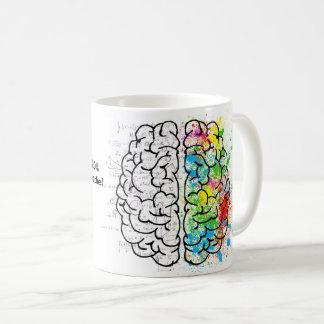 Das Gehirn benutzt 20% des ganzes Sauerstoffes, Kaffeetasse