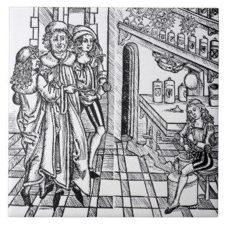 """Das Geschäft des Apothekers, von """"DAS Buch der Keramikfliese"""