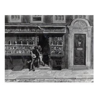 Das Geschäft des Colourmans, St Martin Weg, Postkarte