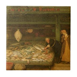 Das Geschäft eines Fischhändlers durch Frederick Keramikfliese