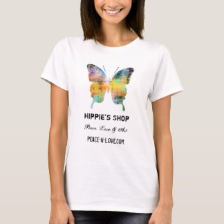Das Geschäfts-fördernder Wert-Schmetterling des T-Shirt